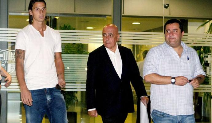 ibrahimovic galliani raiola