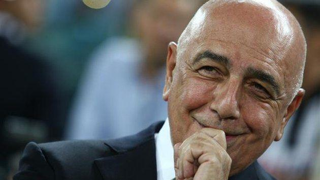 Adriano Galliani Milan