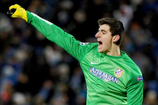 Courtois Atletico Madrid