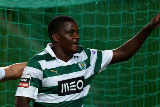 william carvalho con la maglia dello sporting lisbona
