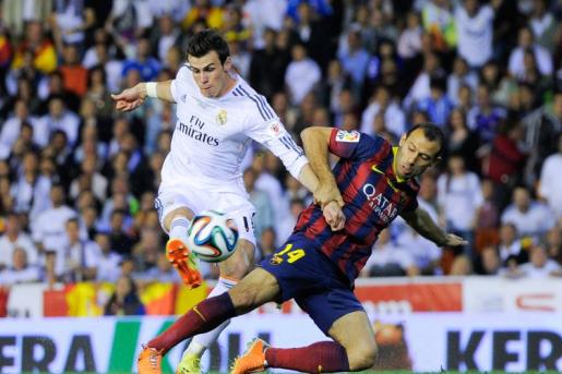 Bale, Real Madrid-Barcellona, Coppa del Re 2013-2014