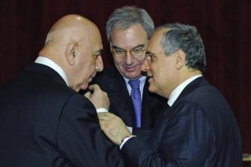 Galliani, Beretta e Lotito