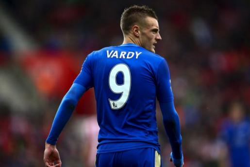 Vardy Leicester Spalle
