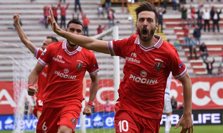 Serie B, Perugia-Salernitana 3-2: GOL & HIGHLIGHTS