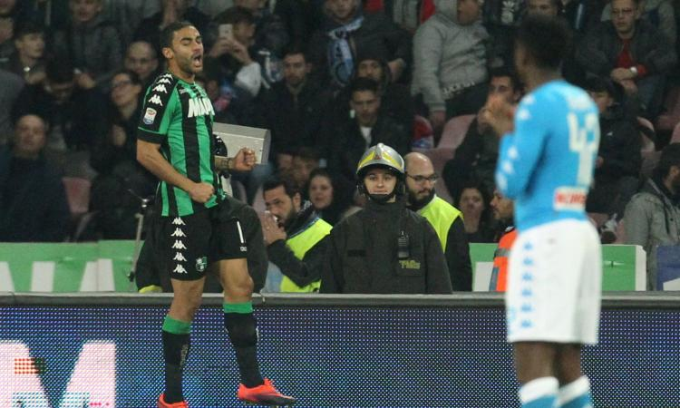 Napoli-Sassuolo 1-1, GOL e HIGHLIGHTS