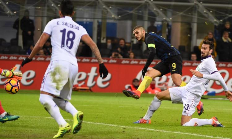Inter-Fiorentina 4-2, GOL e HIGHLIGHTS