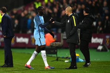 Yaya Toure Guardiola Manchester City