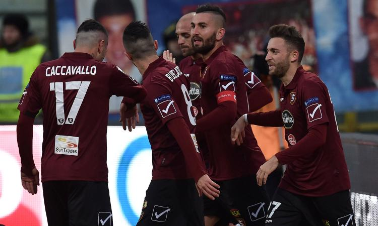 Virtus Entella-Salernitana 0-1: GOL & HIGHLIGHTS