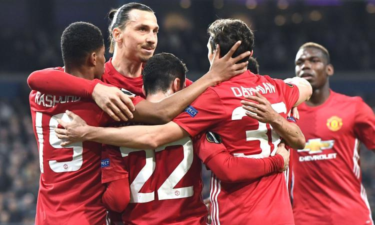 Europa League: Man United-Anderlecht, per i bookies non c'è storia