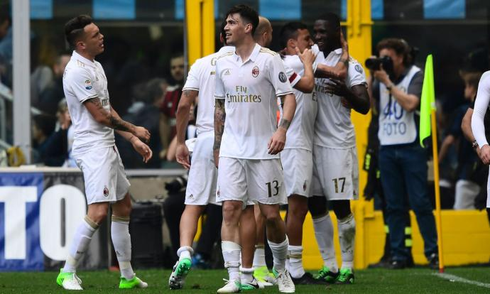 AC Milan rescue draw against Inter in injury time