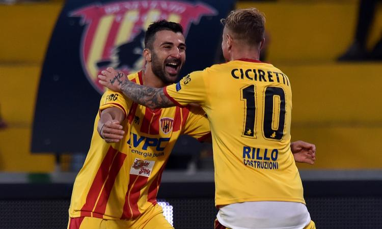 Serie B, play off: il Benevento vola a 3,75