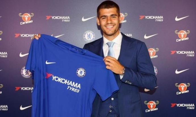 Alvaro Morata already earning praise from Chelsea's Conte
