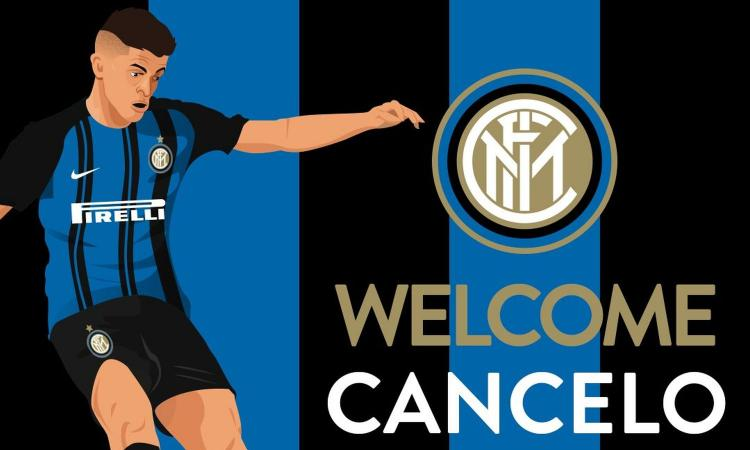 Cancelo all'Inter: è Ufficiale