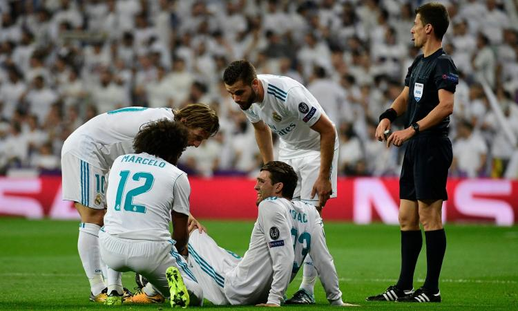 Real Madrid: Kovacic infortunato, esce in lacrime
