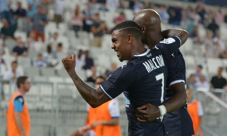 Ligue 1: Bordeaux terzo, Malcom stende il Tolosa VIDEO