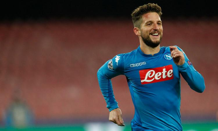 Napoli, Mertens in conferenza:
