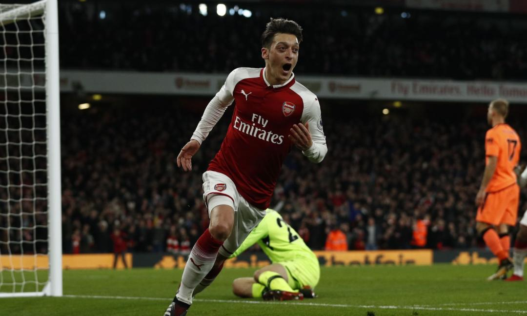 Ozil: United in pole, ma la Juve ci prova