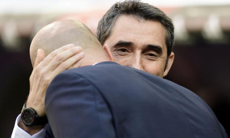 Real Madrid-Barcellona, Valverde: