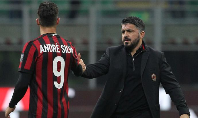 Gennaro Gattuso was at his shithousing best with Roma's Aleksandar Kolarov