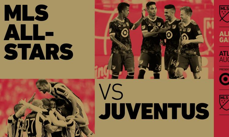 Juventus, l'1 agosto bianconeri all'All-Star Game dell'MLS