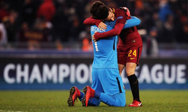 Champions League, Barcellona-Roma 3-0