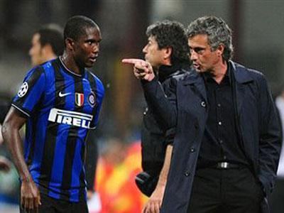 Mourinho-Eto'o: amore come ai tempi dell'Inter VIDEO