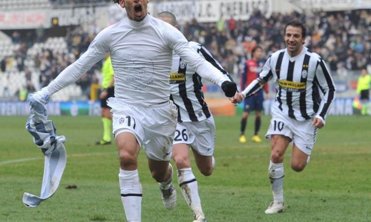 Amauri, duello Milan-Roma se va via dalla Juventus