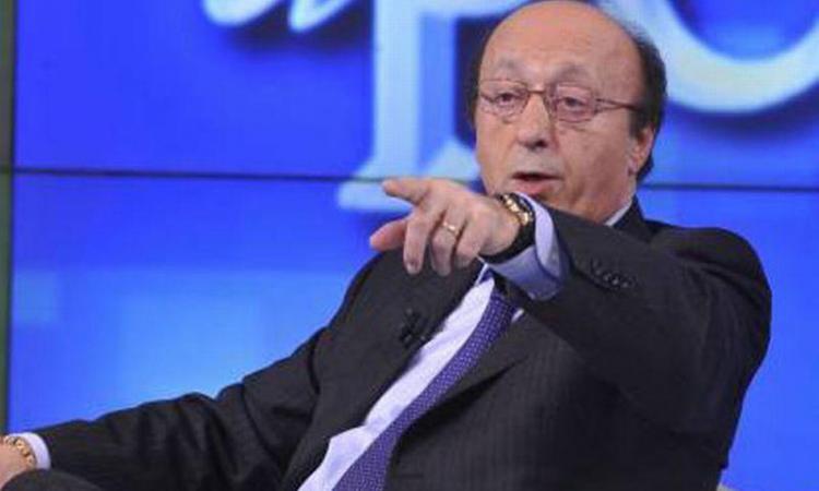 Moggi duro: 'Questa Juve si batte solo con un'altra Calciopoli'