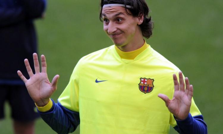 Ibrahimovic: 'Io via dal Barcellona? Solo voci, sto bene qui'