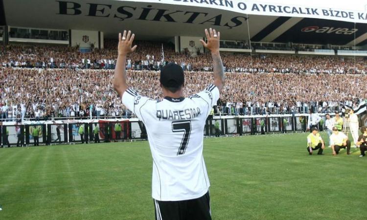 Ex Inter: Quaresma piace al Bursaspor