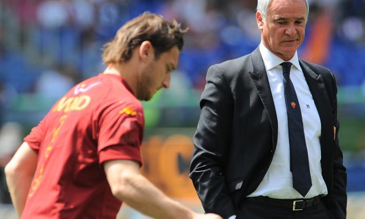 Roma: Ranieri ci riprova per Totti al Leicester