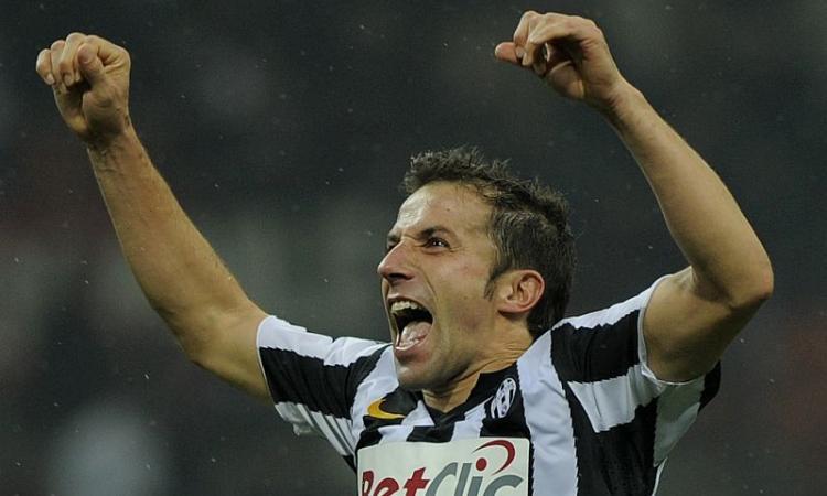 Del Piero: Torna a casa Scudetto!