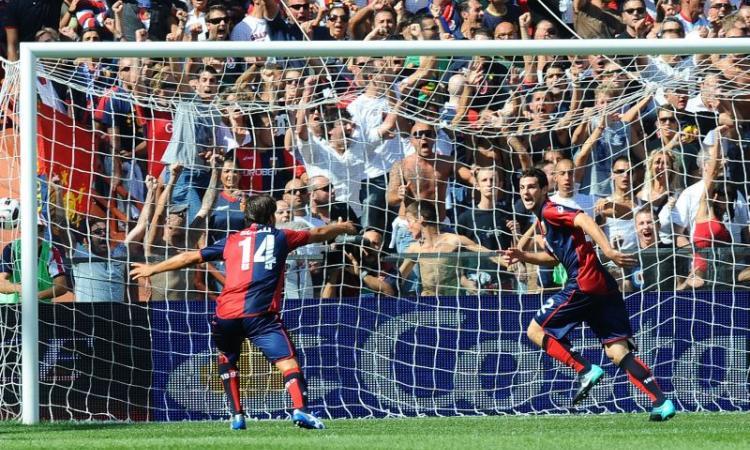 Genoa, Destro torna al gol dopo quasi 500 giorni