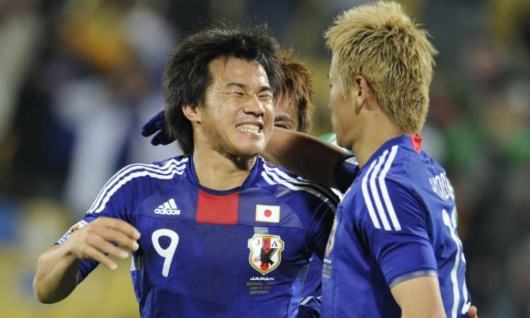Giappone: Keisuke Honda entra e segna, vittoria