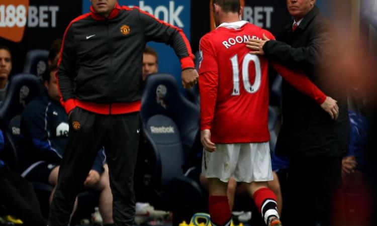 Rooney in ansia per l'autobiografia di Ferguson VIDEO