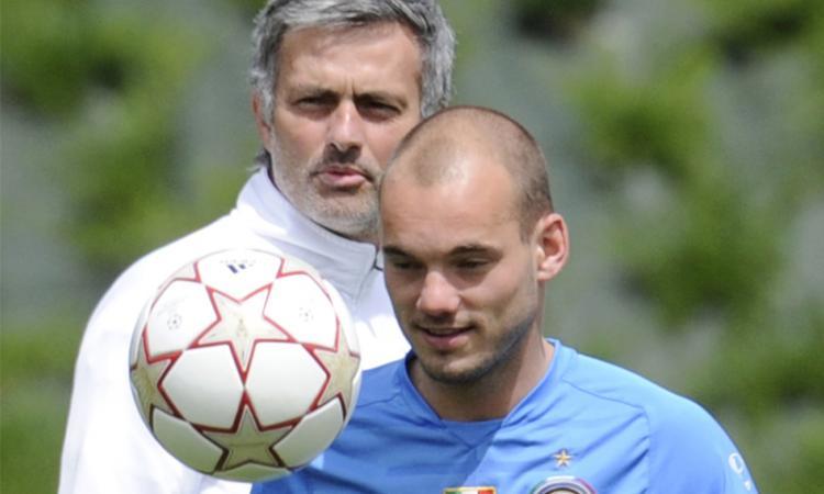 Sneijder: 'Pronto a uccidere e morire per Mourinho'