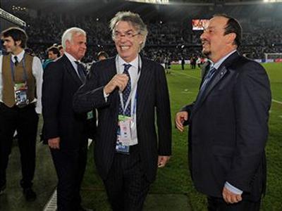 Benitez a Moratti: 'Sbagli troppo'