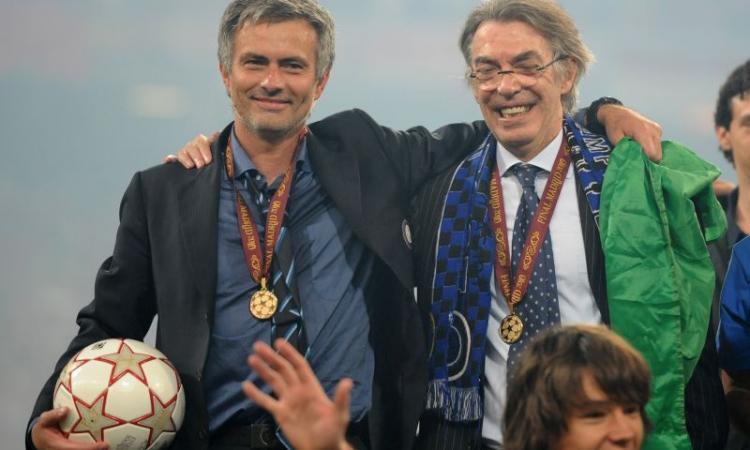Moratti: 'Mourinho quando torna in Italia reagisce come se fosse ancora qui. E su Zhang presidente vi dico che...'
