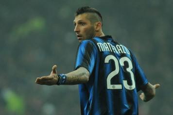 Il difensore dell\'Inter Marco Materazzi