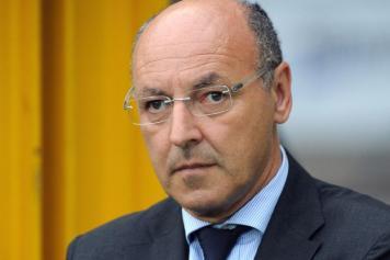 Beppe Marotta, dg della Juventus: sguardo serio