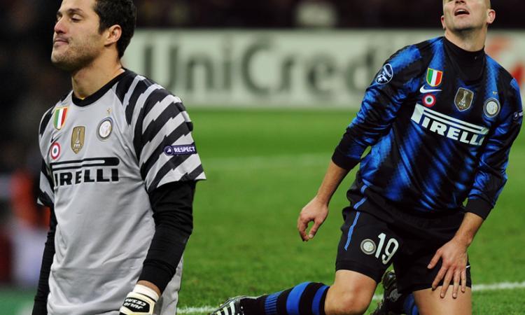 Allenamento Inter:   Julio Cesar ad Appiano