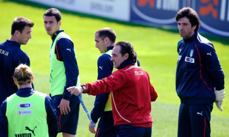 Italia-Bulgaria 1-0: segna Gilardino, Buffon protagonista con brivido finale