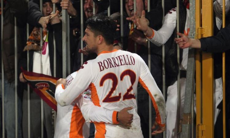 Roma, Borriello: ipotesi prestito alla Fiorentina a gennaio