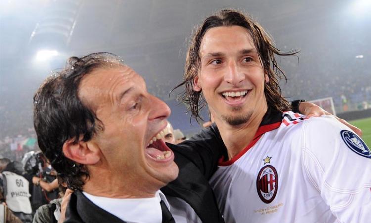 Allegri: 'Ibra da Mou? No, resta al Milan'