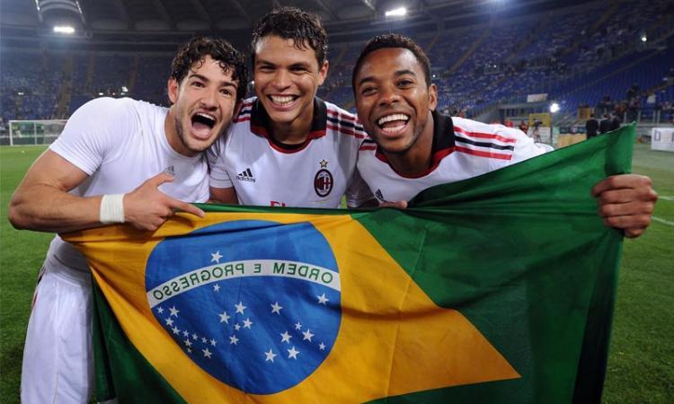 Balotelli-Milan: Pato o Robinho in Brasile