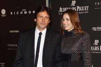 Leonardo con la fidanzata Anna Billò