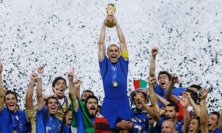 Cannavaro, Pirlo e Totti: nasce Azzurri Legends, esordio il 7 ottobre con la Germania