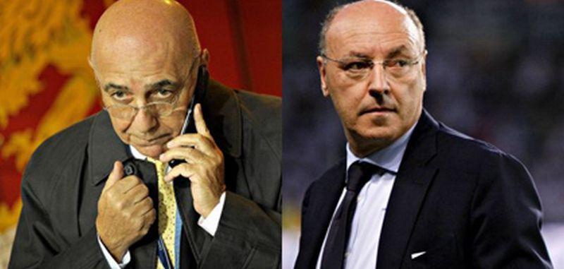 Juventus-Milan è anche Marotta vs Galliani: chi è il più bravo fra i due dirigenti?
