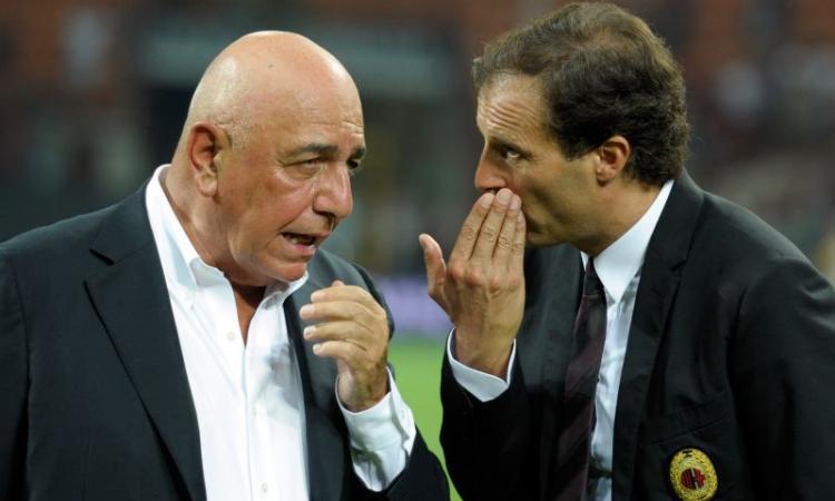 Galliani: a Berlusconi piace Montella. Ma lasciare in pace Allegri (e i viola)?