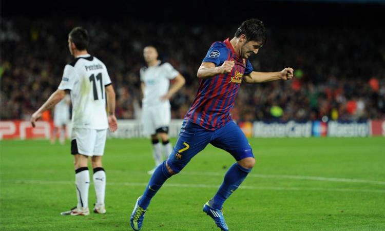 Juve a Barcellona: Villa o Sanchez